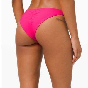 Lululemon Sun Soaker Cheeky Bottom *Low Rise Pink